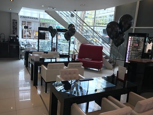 Tafeldecoratie 3ballonnen Akkerman Rotterdam