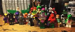 The Sinister Twenty-Two (LordAllo) Tags: lego spider man villains sinister six green goblin venom doctor octopus vulture electro sandman kraven the hunter mysterio