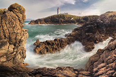 Fanad Head Lighthouse, Ireland (MelvinNicholsonPhotography) Tags: fanadheadlighthouse ireland coastal coast lighthouse fanadlighthouse longexposure water waves rocks cliffs panorama melvinnicholsonphotography