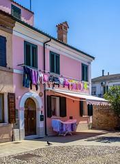Comacchio (FE), 2017. (Fiore S. Barbato) Tags: italy emilia romagna comacchio valli laguna ponti trepponti