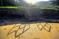 004-Ocean Pool, South Coast, NSW 2009 ((π)) Tags: ocean oceanpool rockpool coalminers explosives sea coast swimmingpool swimming winterswimmingclub swimmingclub nightshot night shadows shadowpeople suburbsbythesea nsw newsouthwales australia eastcoast australianeastcoast escarpment nightswimming
