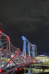 DSC06858 (piggymonster) Tags: singapore marina bay sand helix bridge