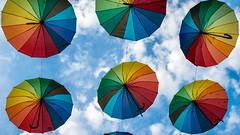 IMG_2896.JPG (esintu) Tags: umbrella rainbow sky abstract pattern eminonu istanbul