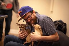 (G.Clark Photography) Tags: spencer glenn rupert the dog ping pong love canon 5d 50mm lens