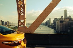 view from the Queensboro bridge (Towner Images) Tags: us usa manhattan ny nyc towner townerimages newyork bigapple america river eastriver building architecture bridge steelwork rivet yellow skyline yellowcab