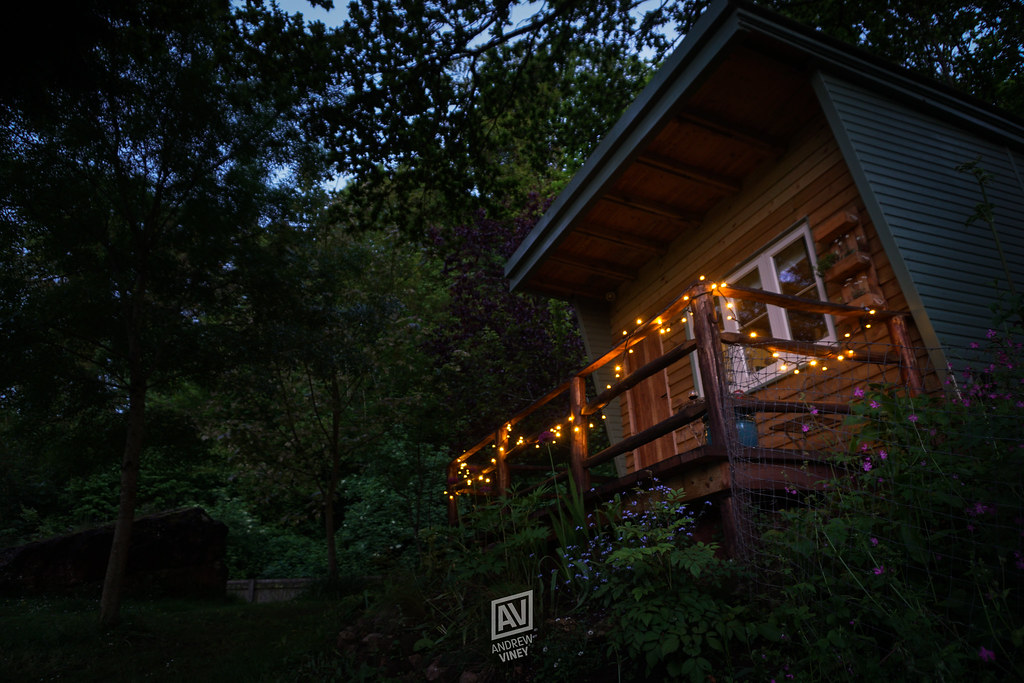 The Rock Shack (itsViney) Tags: Trees Nature Night Twilight Outside  Architecture Lights Evening