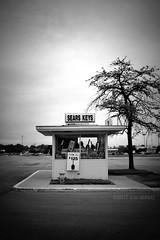 Sears Keys (ilovecoffeeyesido) Tags: searsandroebuck keykiosk kiosk fortwaynein glenbrooksquaremall sears blackandwhite coliseumboulevard lincolnhighway