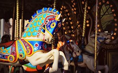 Canon EOS 60D -  Fairground Attraction - Antique Merry-Go-Round / Carousel,  Weston-Super-Mare (TempusVolat) Tags: fair fairground horse merrygoround roundabout attract attraction bright colours pan panning horsehead tempusvolat mrmorodo gareth tempus volat motion blur bokeh fairgroundattractions carousel canon eos 60d geotagged garethwonfor mr morodo wonfor weston super mare wsm