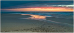The path to Pastels... (Mykel46) Tags: talia southaustralia australia au color pastel path light red yellow orange pink blue sand water sea landscape outside outdoors canon golden bay