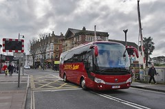 Leons Yutong (Better Living Through Chemistry37) Tags: transport transportation psv publictransport vehicles vehicle leons leonscoaches leonscoachtravel coaches coachesuk 15plate 15reg yutong yutongtc9 tc9 torbayroad paignton levelcrossings 218 yc15wcp