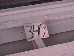 Dock spot #349 (GLC 392) Tags: presque isle ore dock marquette lsi spot 349 pellets iron rail railroad railway train plate mi michigan lake superior ishpeming