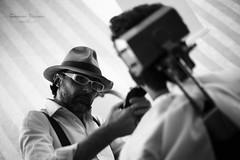 Il Barbiere di Siviglia #3|Novara|Italy (Giovanni Riccioni) Tags: giovanniriccioniphotography ilbarbieredisiviglia novara 2017 barber barbiere siviglia style barberwithhat elegance canoneos5d canon canonef50mmf18stm 5d 50mm canon50mmf18 portrait focalefissa fixlent blackandwhite blackwhite biancoenero bw monocromo