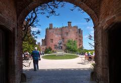 Powis Castle, Welshpool, Wales (Explored) (Baz Richardson (now away until 27 May)) Tags: wales powiscastle castles nationaltrust explored