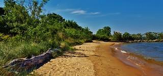 Fort Smallwood Beach Scenery 2017