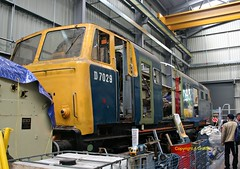 D7029 at Kidderminster TMD  2017 (Ado Griff) Tags: severnvalleyrailway svrkidderminster d7029 class35 beyerpeacockhymek kidderminstertmd dtg dieselhydraulic maybach