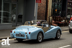 ~ Triumph TR3A ~ (ADAM TAYLOR   Photography) Tags: triumph tr3a british car english motor motorcar motorcars blue classic cars classics matlock derbyshire bath beautiful canon eos 60d eos60d adam taylor photography twitter tumblr facebook adamtaylorphotography old town towns vintage stunning england uk location color colours colour colors tone tones design designs iconic icon past time times