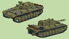 Light Tank with T-100 gun system   Article 64992 [WIP] (2che_4life) Tags: ldd lego wip tank wot soviet