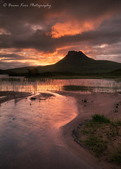 Stac Pollaidh - Mountain Fire (.Brian Kerr Photography.) Tags: scotland scottish scottishlandscapes scottishhighlands scotspirit visitscotland assynt stacpollaidh sunset reflections briankerrphotography briankerrphoto sky loch outdoor outdoorphotography nature naturallandscape natural sony a7rii