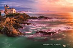Biarritz (Francia) (Senén García.) Tags: biarritz francia senén ocaso atardecer puestadesol