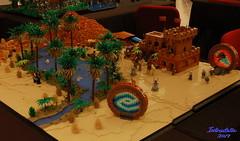 Oasis portals (Intrastella) Tags: lego oasis desert