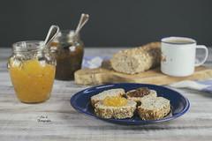 Mermeladas (Ivannia E) Tags: breakfast desayuno pan mermelada confiture jam coffeetime cafédecostarica amoelcafé foodphotography alimentos