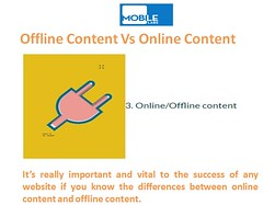 Offline Content Vs Online Content (mobiledevicedevice) Tags: testing offline content