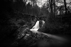 Misty waterfall (lja_photo) Tags: water waterfall woods wasserfälle white europe exploration exposure rocks river reflections reflection rock travel trees photography dramatic forest fog germany landscape light long landmark landscapes longexposure leaves lighting textures clouds contrast black blackandwhite bw bnw blackandwhitephoto bridge natural nature monochrome monotone monoart moody mist wasserfall natures
