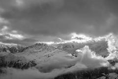 Shareck, Heiligenblut (Fefe Vagyok) Tags: travelphotography landscape heiligenblut austria blackandwhite clouds mountain