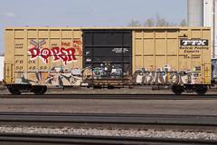 Nekst Erupto (Psychedelic Wardad) Tags: freight graffiti gtb sws vts a2m erupto327 erupto dirty30 d30 mayhem dts irak msk nekst