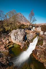 River Coupall & Buachaille Etive Mor - Glencoe (Mister Oy) Tags: glencoe rivercoupall buachailleetivemor watarfall waterfall scotland river slow fuji1024mm fujixpro2 landscape visitscotland movement