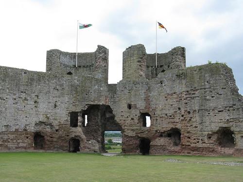 Rhuddlan: Castell Rhuddlan (Clwyd)