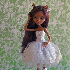 2 (butterflydeffekt) Tags: monsterhigh doll custom ooak handmade outfit clawdeen wolf