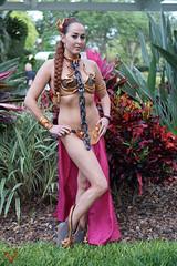 Star Wars Celebration Orlando 2017 Cosplay (V Threepio) Tags: cosplay starwarscelebration2017 vthreepiophotography costume outfit sonya6000 sonyalpha 35mmlens unedited unretouched vthreepio starwars orlando female girl slaveleia