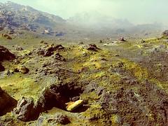 Highway to Hell (micheledibitetto) Tags: sulphur mountain volcano etna sicily italy yellow