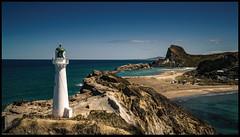 Castle Point Light #3 (niggyl (well behind)) Tags: lighthouse castlepoint wairarapacoast newzealand northisland castlerock sonyilce7rm2 sony sonya7rii sonylens sony247028gm fe2470mmf28gm fe2470gm lowkeyblackandwhite monochrome mono deliverancecove