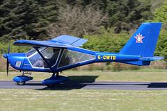 G-CWTD (GH@BHD) Tags: gcwtd aeroprakt a22 foxbat carrickmoreairfield microlight aircraft aviation