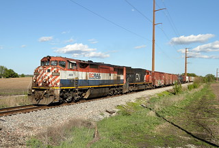 BCOL 4609 West in Plato Center, Illinois on May 6, 2017.