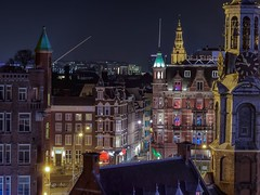 22:46 (karinavera) Tags: travel holland clock church longexposure amsterdam night cityscape city