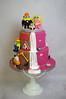 Minion Wedding Cake (toertlifee) Tags: törtlifee weddingcake cake tortefestlichetorte torten hochzeit wedding hochzeitstorte minions pink black schwarz half