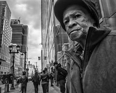 Market Street, 2017 (Alan Barr) Tags: philadelphia 2017 marketstreet marketstreeteast marketeast street sp streetphotography streetphoto blackandwhite bw blackwhite mono monochrome city candid people panasonic lumix penf