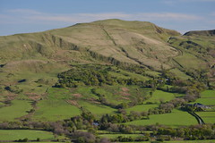 Mor Tor, Peak District National Park, Derbyshire, England. (westport 1946) Tags: england unitedkingdom highpeak peakdistrict derbyshire edale thenationaltrust nationalpark mortor theridge horizon hillside hill foothill grasslands grass fields field trees peaceful idyllic pastoral rural countryside landscape outdoor tranquil valeofedale