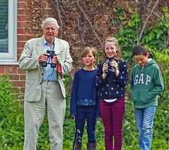 Sir David Attenborough- A real living legend !! (Clive Brown 72) Tags: sir davidattenbourough legend broadcaster widlife bbc slimbridge may2017 nationaltreasure
