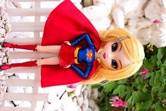 Kara [Pullip Supergirl] (Vagabonde59) Tags: pullip pullips poupée poupées doll dolls supergirl kara danvers zorel dc comics