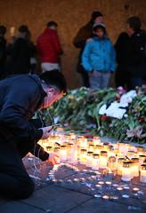 (Christine H.C. Valenzuela) Tags: stockholm sweden sverige terror attack people community united grieving tragedy 2017 peace terrorism love unity swedish svenska svenskar candles candlelights flowers europe life