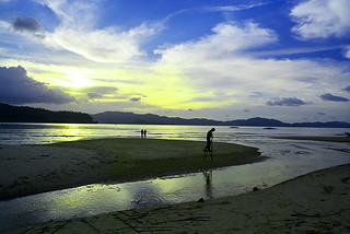 sunset Port Barton Philippines _7750