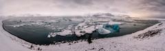 Glacier Lagoon Jökulsárlón (pajavi69) Tags: iceland islandia jökulsárlón glacier lagoon glaciar laguna landscape waterscape water wild nikon nature nikkor 1224 d710 frozen ice hielo paisaje panorama panoramica nieve atardecer sunset iceberg agua lago islandi glacierlagoon lagunaglaciar nikkor1224 amanecer dawn agualago