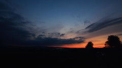 Sunset (phagileo) Tags: sunset nikond3300 nikcollection ultrawide landscape landschaft sonnenuntergang deutschland germany blue purple orange silouette silouettes silouetten sigma1020mmf35 night clouds longexposure