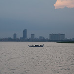 Phnom Penh from the Mekong River, Cambodia thumbnail