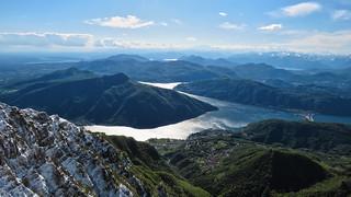 La vista dal Monte Generoso (1701m) - Ticino - Svizzera [Explored #9]