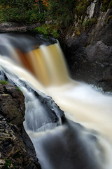 illusion (Marty Hogan) Tags: yondotafalls gogebiccounty michigan waterfall waterfalls presqueisleriver